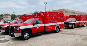 Houston ambulances