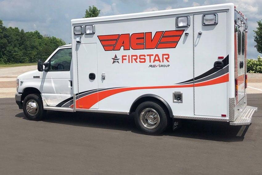 AEV Firstar Ambulance