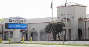 Converse, TX city hall