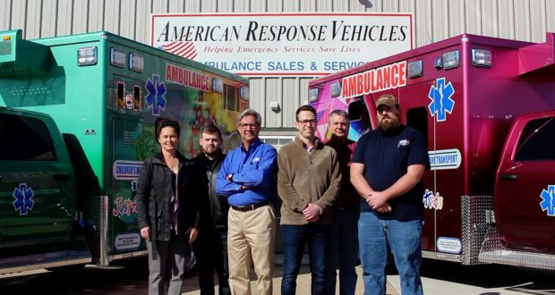 The team at American Response Vehicles.