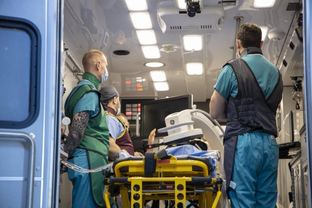 U of M Minnesota Mobile Resuscitation Consortium truck